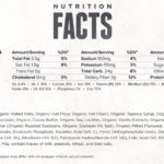 Clif Bar- Kids ZBar Chocolate Chip- Nutrition Facts
