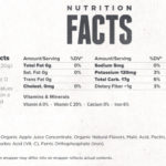 Clif Bar- Kids Zfruit Rope Mixed Berry- Nutrition Facts