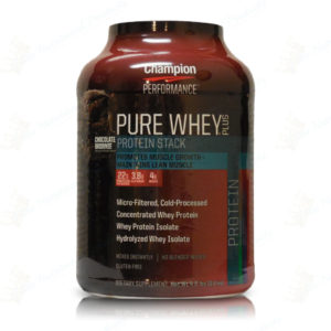 Champion Performance- Pure Whey Plus 5lb Chocolate