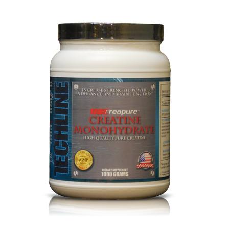 Techline Nutrition- Creapure Creatine Monohydrate 1000g
