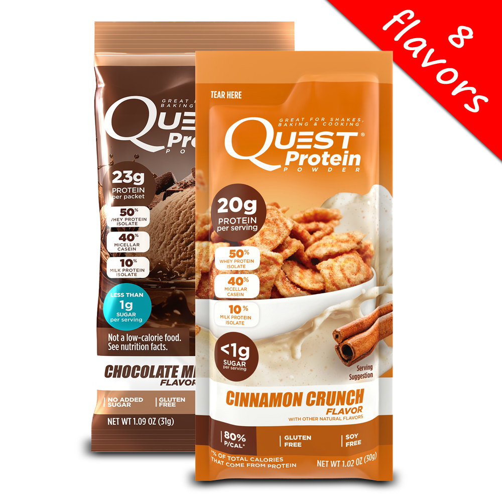 Quest Nutrition- Single Serving Protein Powder