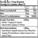 iForce Nutrition- HemaVo2 Max- Nutrition Facts