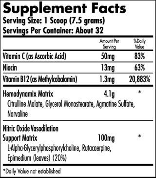 iForce Nutrition- Hemavol Powder