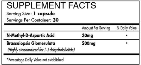 iForce Nutrition- Intimidate SRT- Nutrition Facts