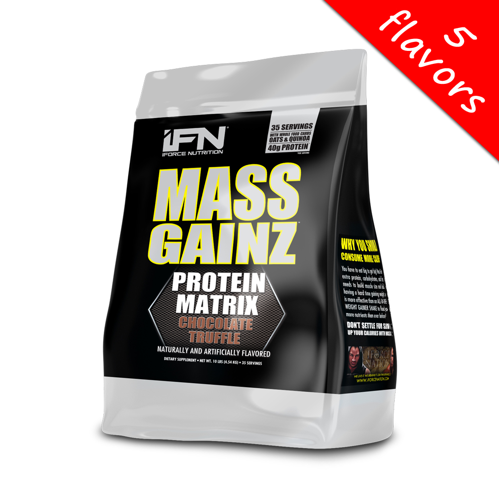 iForce Nutrition- Mass Gainz 10lbs