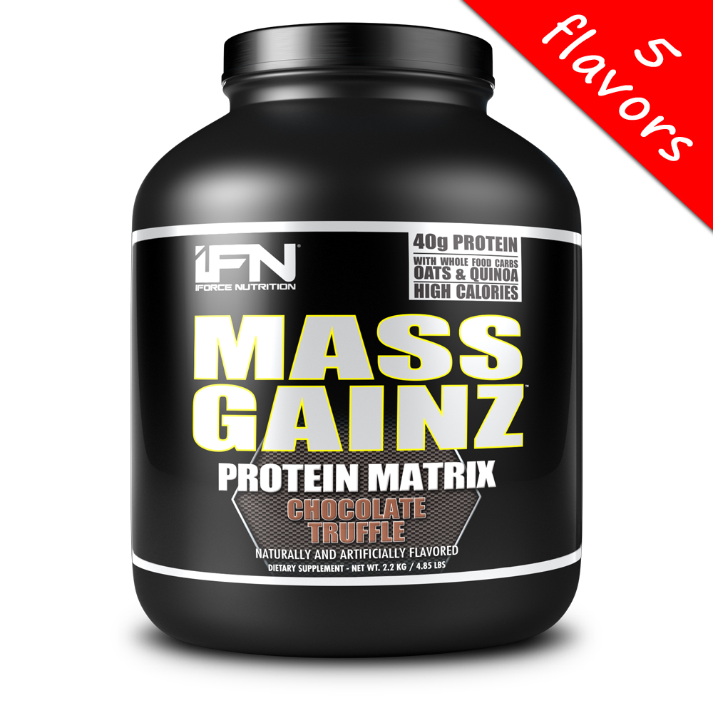 iForce Nutrition- Mass GainZ 4.85lbs