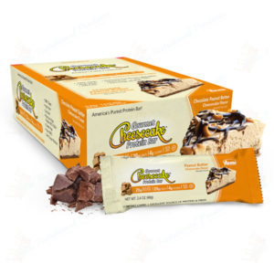 ANSI Nutrition- Gourmet Cheesecake Protein Bar Chocolate Peanut Butter