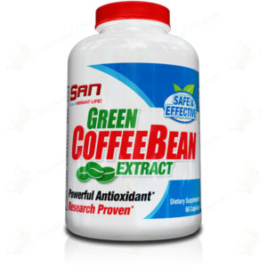 SAN Nutrition- Green Coffee Bean Extract