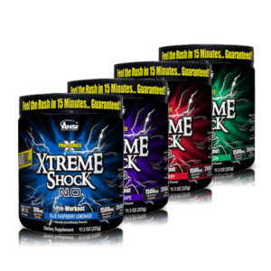 ANSI Nutrition- Pro Series Xtreme Shock NO Powder
