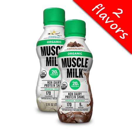 Cytosport- Muscle Milk Organic 12oz
