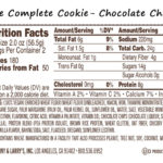 Lenny & Larry's- The Complete Cookie- Nutrition Facts
