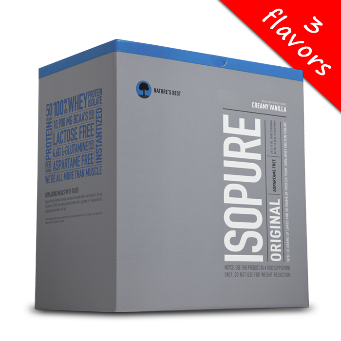 Isopure- Original Single Serving