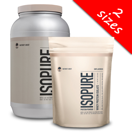 Isopure- Unflavored Whey Protein Isolate