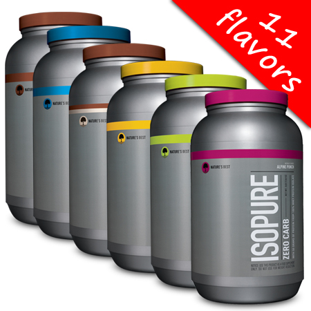Isopure- Zero/Low Carb 3lb