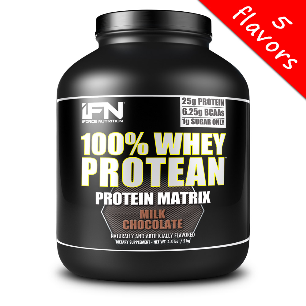 iForce Nutrition- 100% Whey Protean