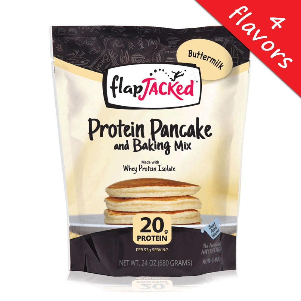 FlapJacked- Protein Pancake & Baking Mix 24oz