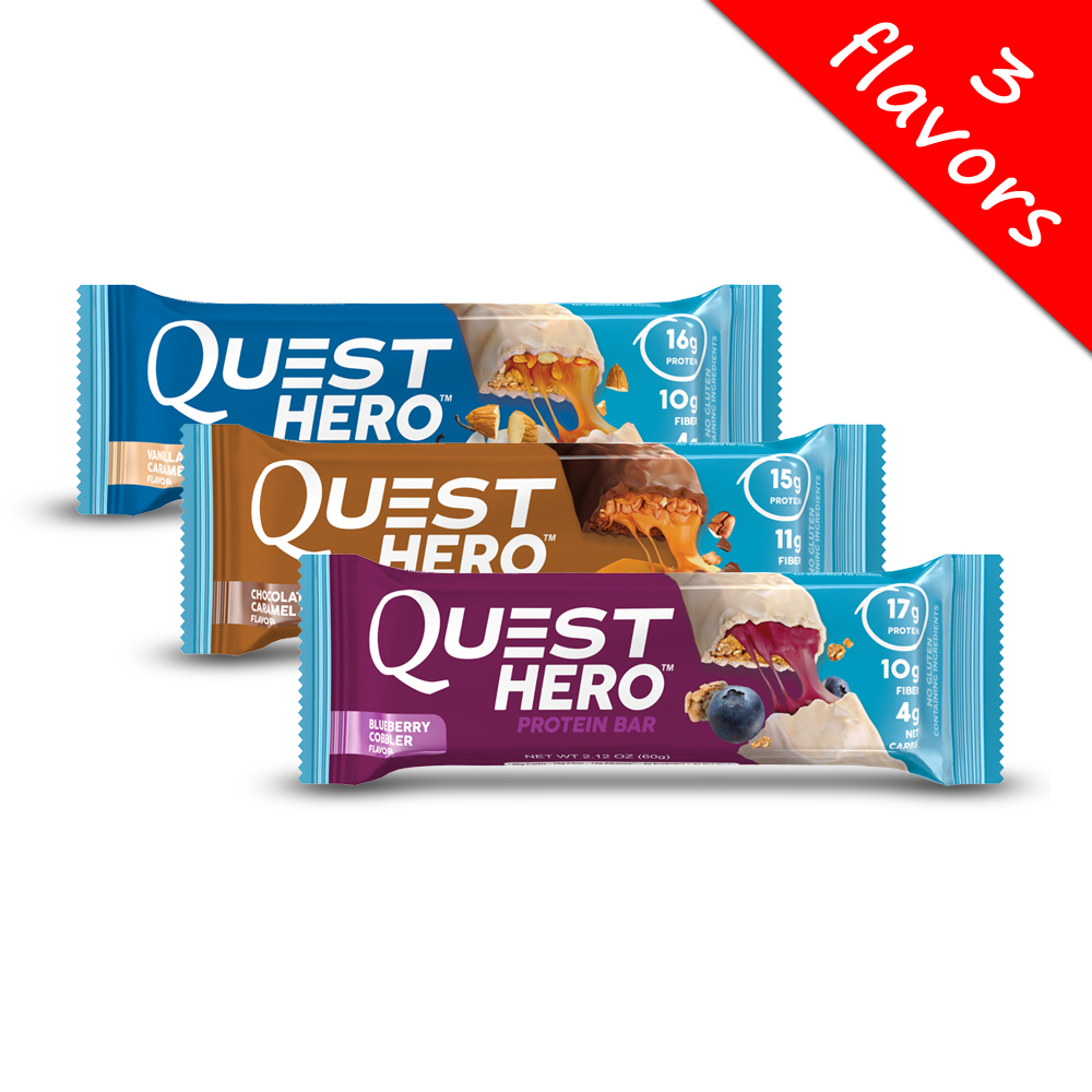 Quest Nutrition- Hero Bars