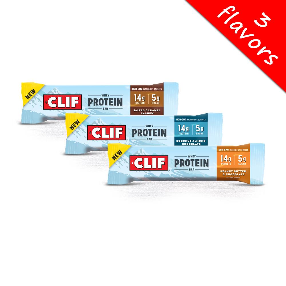 Clif Bar- Whey Protein Bar