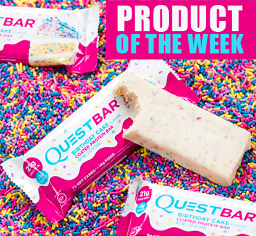 Quest- Birthday Cake Frosted Protein Bar
