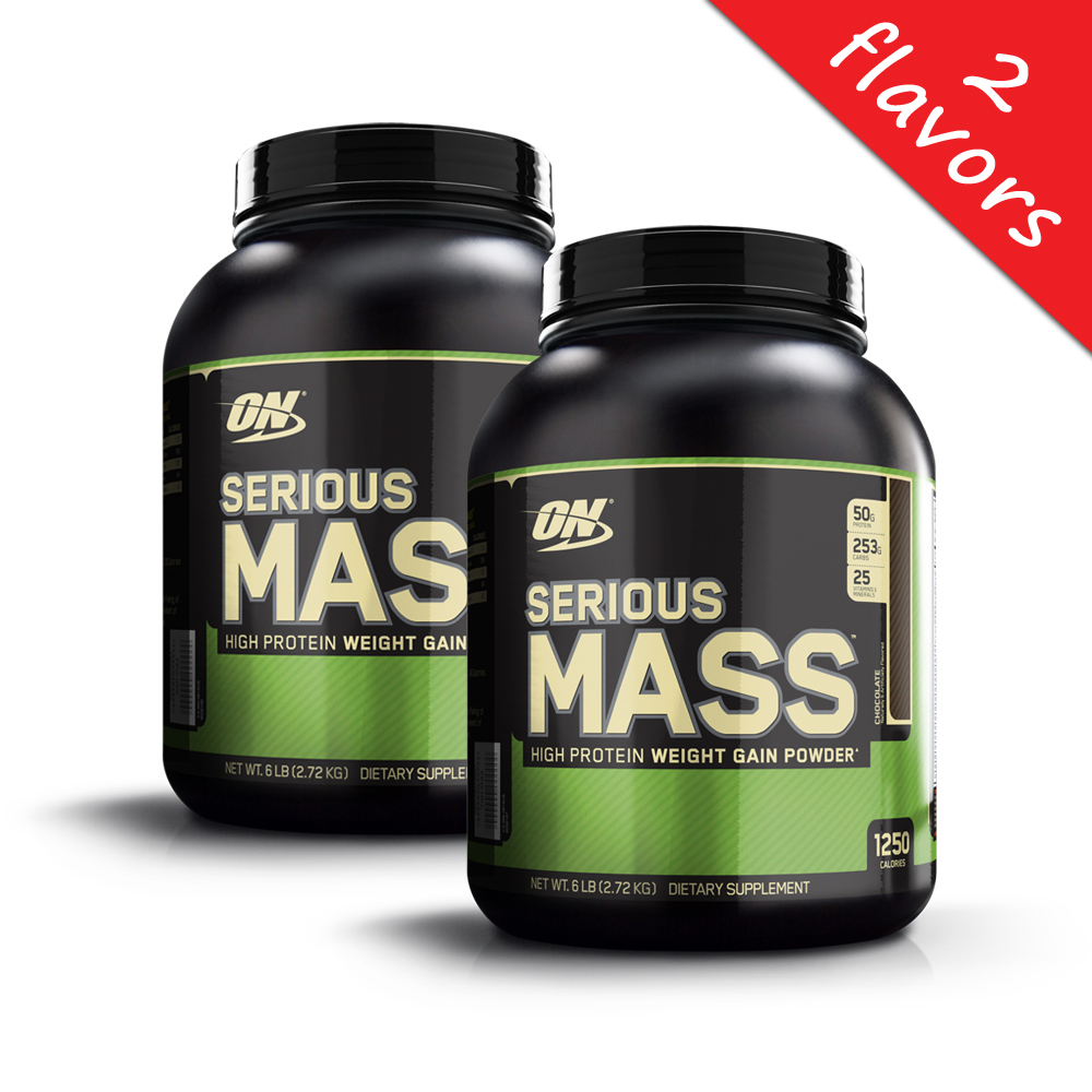 Optimum Nutrition- Serious Mass 6lb