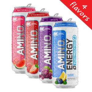 Optimum Nutrition- Amino Energy Electrolytes Sparkling RTD