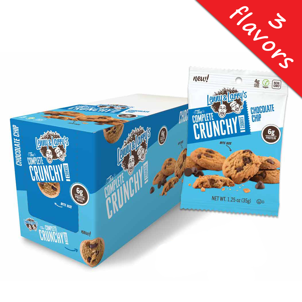 Lenny & Larry's- The Complete Crunchy Cookie 1.25oz