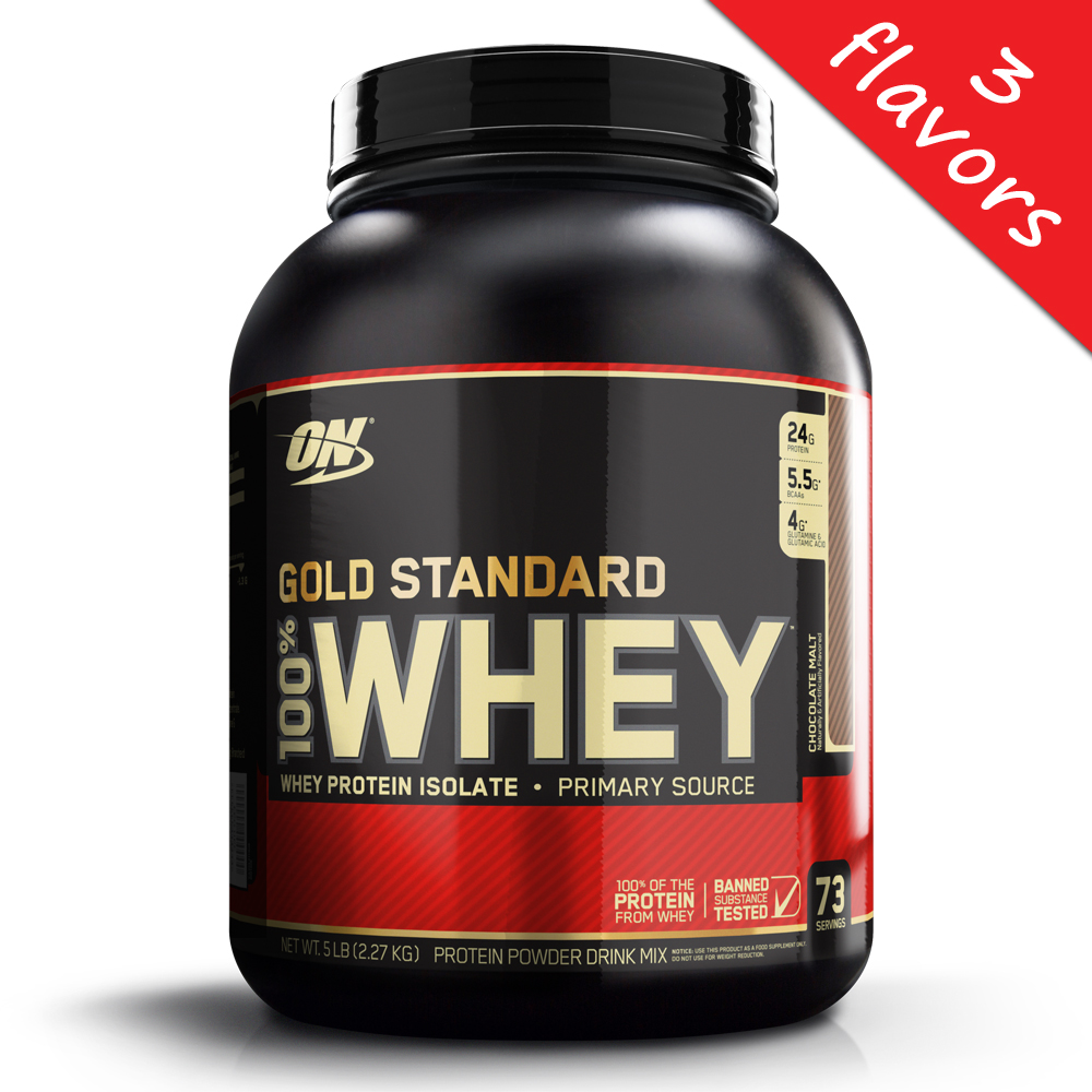 Optimum Nutrition- 100% Whey Gold Standard 5lb