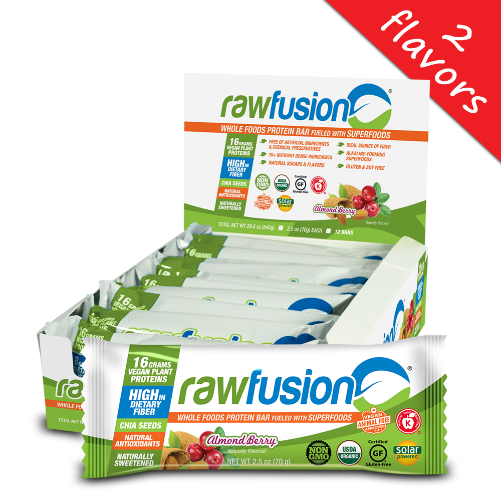 SAN Nutrition- Raw Fusion Bar