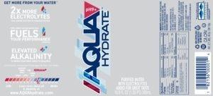 AQUAhydrate- 500ml Label