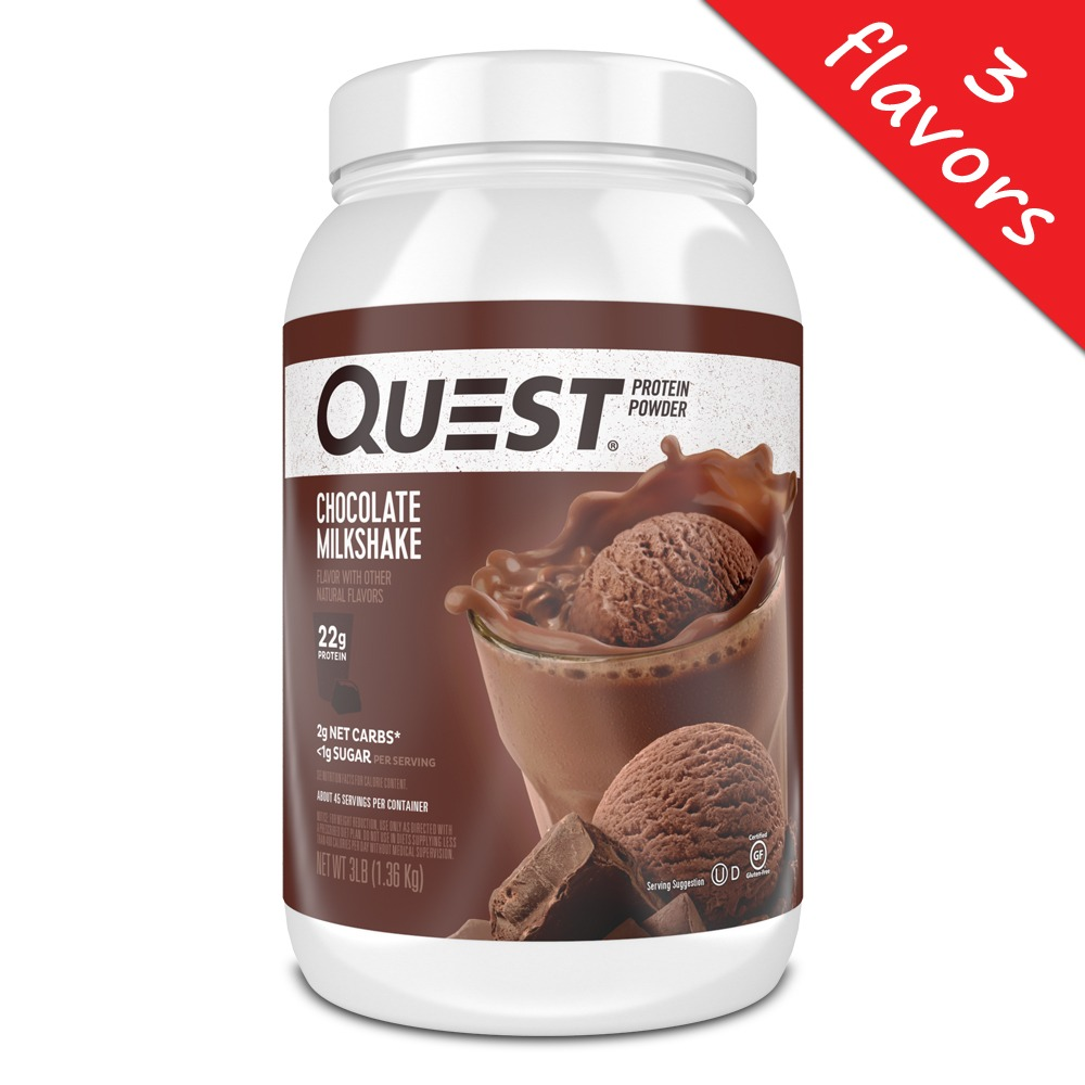 Quest Nutrition- Protein Powder 3lb – Elite Nutritional Products