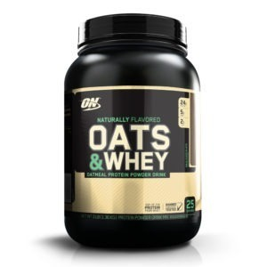 Optimum Nutrition- 100% Whey Gold Standard Natural Oats & Whey Chocolate